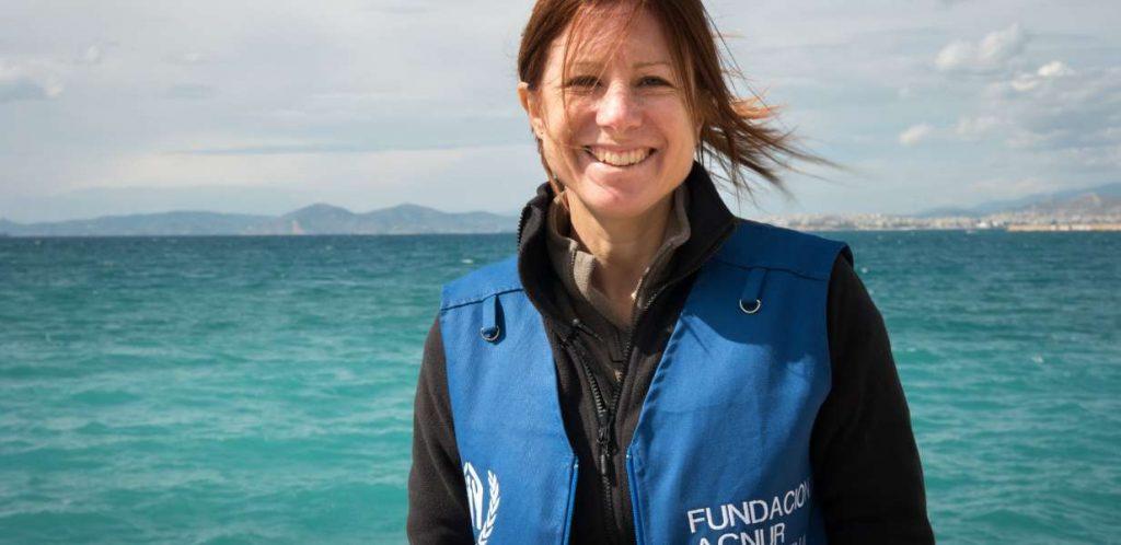 Magdalena Goyheneix, médica para ACNUR Argentina