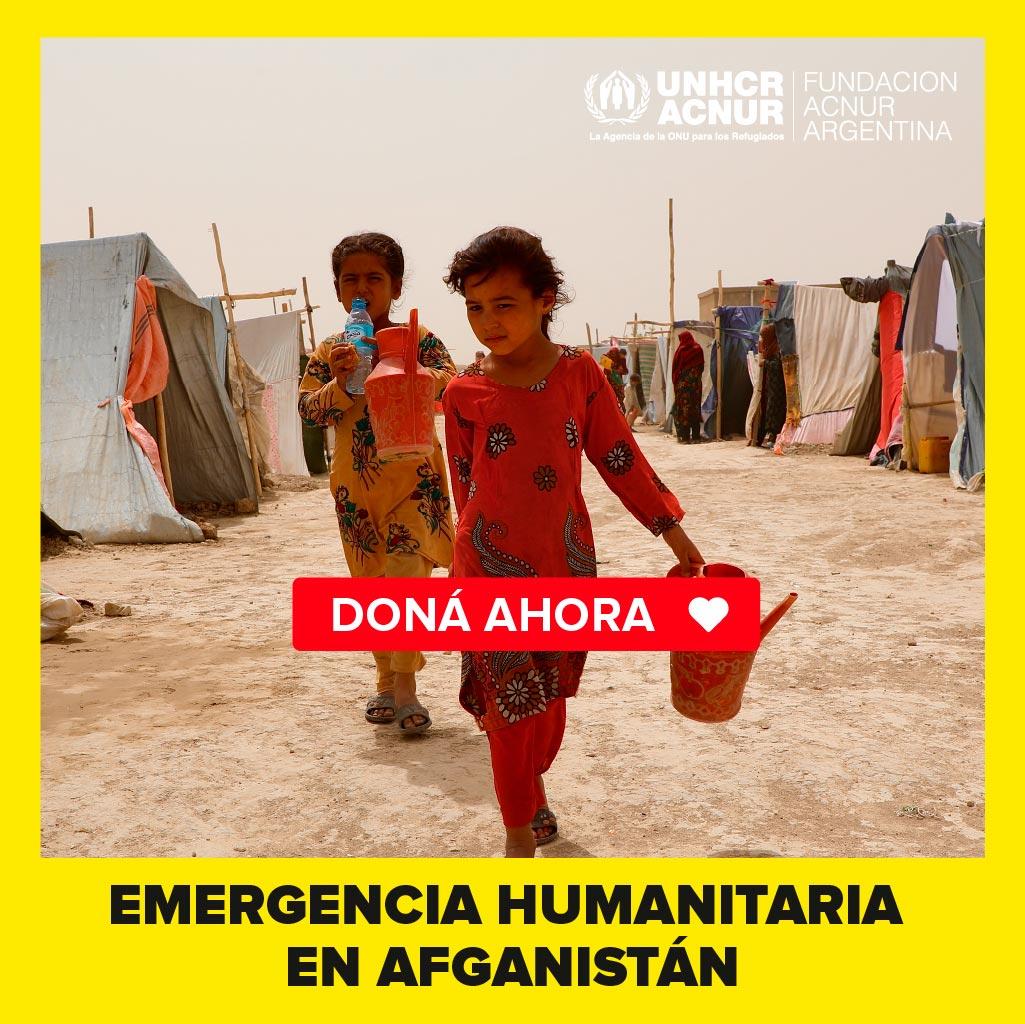 Emergencia humanitaria en afganistan